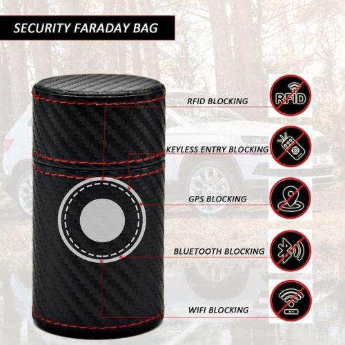 signal Blocking Metal Faraday Box for Car Keys, RFID Box for Car Security